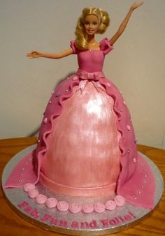 Wedding Ido: Disney Barbie Princess Cakes Decoration Ideas