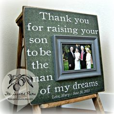 Wedding Gift For Parents Parents Thank You Gift by thesugaredplums