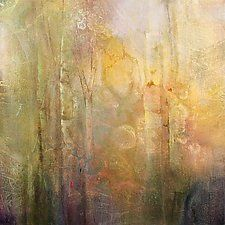 """Nature On Display by Karen  Hale (Acrylic Painting) (18"""" x 18"""")"""