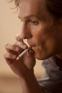 True Detective, the world needs bad men. Matthew McConaughey as Rust Cohle