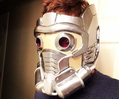 In this tutorial I will be showing you how to make a Star-Lord helmet from Guardians of the Galaxy using a pre-existing pepakura template (see step 1)...