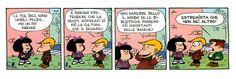 Triste realtà!  #mafalda, #quino, #cultura, #biblioteche, #banche, #denaro, #sarcasmo, #italiano, #fumetti, #comics,