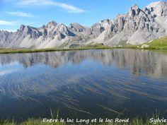 Entre le lac Long et le lac Rond, dans les Alpes