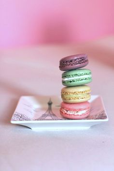 Macrons. I'm kinda really obsessed with them. Especially Vanilla Bean ones...