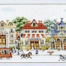 Gallery.ru / Все альбомы пользователя natalytretyak Christmas Embroidery, Painting, Dollhouses, Dots, Punto De Cruz, Painting Art, Paint, Painting Illustrations, Paintings