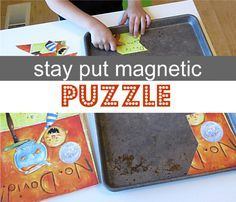 Frustration free puzzle hack for little kids. Great puzzle!