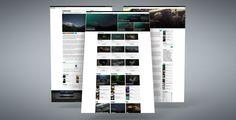 Gazette - a responsive Ghost Magazine and Blog Theme #ghost #webdesign #blog #magazine #design Demo: http://gazette.bironthemes.com Buy: https://www.codester.com/items/3440/gazette-responsive-magazine-ghost-theme
