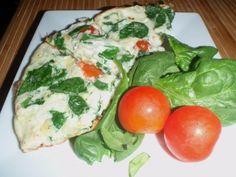 egg white and spinach scramble_no carb recipes