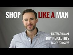 Shop Like a Man: How to Make Buying Clothes Easier for Guys (via @distilledman)