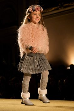 Kids fashion trends fall 2014 from Monnalisa in Italy