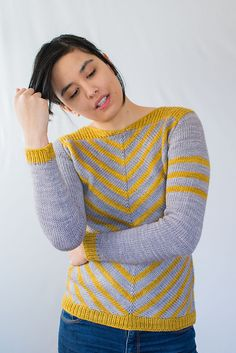 Ravelry: Aumangea Pullover pattern by Francoise Danoy