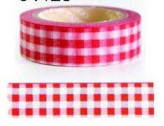 """WASHI TAPE Tamaño: 15mm. x 10 Metros Washi tape, cinta japonesa, celo decorativo de papel... Esta cinta decorativa se ha convertido en toda una sensación dentro del mundo de la decoración artesanal, las manualidades y, en general, el mundo del """"hagálo usted mismo"""" o """"DIY"""" (do it yourself). Se trata de una cinta adhesiva hecha con papel de arroz."""