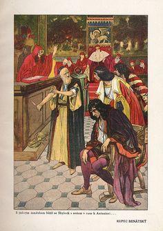 Tales From Shakespeare  Published by Šolc & Šimáček in Prague(1923). Illustrated by Artuš Scheiner