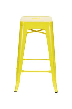 Novara Steel Stool Yellow THESE WOULD LOOK AWESOME IN A LEMON LIME THEMED  KITCHEN!