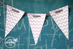 pink party banner printable pink birthday banner pink baby shower banner girl baby shower banner pink garland 1st birthday girl banner by youmakedo on Etsy https://www.etsy.com/listing/107995371/pink-party-banner-printable-pink