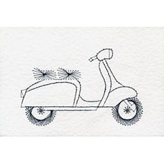 Leisure Lambretta scooter