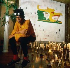 Jean-Michel Basquiat : The Radiant Child : Photo Jean-Michel Basquiat, Tamra Davis Jean Michel Basquiat, Jm Basquiat, Robert Mapplethorpe, Times New Roman, Pop Art Andy Warhol, Radiant Child, Bad Painting, Brooklyn, Hip Hop