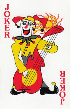 Ernst & YoungJoker Playing Card