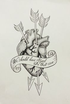 Game of thrones' jon snow quote anatomical heart by BanzaiPrints, £10.00