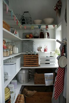 Kitchen/pantry ideas