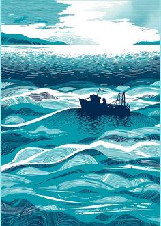 Landscapes and Nature Illustration - CHRIS KEEGAN