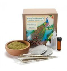 Nova Natural Toys + Crafts - Learning - Henna Kit