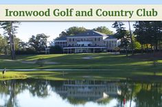 $25 for 18 Holes with Cart and Range Balls at Ironwood #Golf and Country Club in Greenville, #NorthCarolina!