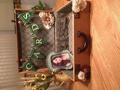 Crafty graduation card box
