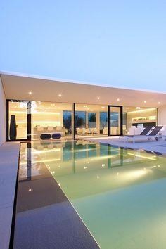 #Schwimmbad planen Jesolo Lido Pool Villa www.bsw-web.de