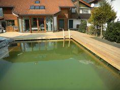 A Swimming Pond in Innsbruck, Austria