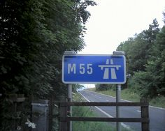 motorway signage system designed by Jock Kinneirand Margaret Calvert