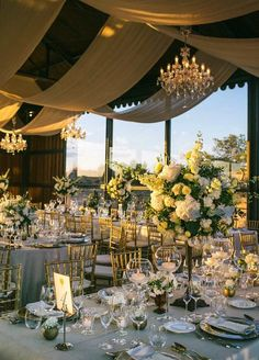 Garden Wedding Ideas in Bloom Photo: Adam Alex via Colin Cowie Weddings; Who said a garden has to be outside for it to be great?Photo: Adam Alex via Colin Cowie Weddings; Who said a garden has to be outside for it to be great? Wedding Reception Ideas, Wedding Themes, Wedding Table, Wedding Styles, Wedding Venues, Wedding Planning, Wedding Photos, Wedding Entrance, Event Planning Design