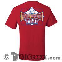 TGI Greek Tshirt - Phi Gamma Delta - Family Weekend Shirt