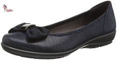 Hotter  Alice, Ballerines femme - Bleu - Blue (Navy Lizard), 38 - Chaussures hotter (*Partner-Link)