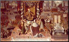Presentation of the Augsburg Confession to Emperor Charles V, June 25 1530.