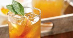 Carolina Peach Iced Tea - psst...that's a great cookbook, too!  I recommend it!