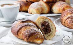 Jak zrobić croissanty Croissant, Pretzel Bites, Baked Potato, Potatoes, Bread, Baking, Ethnic Recipes, Food, Potato