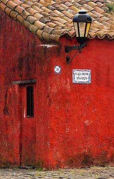Colonia del Sacramento, departamento de Colonia, Uruguay. Su casco antiguo, el…