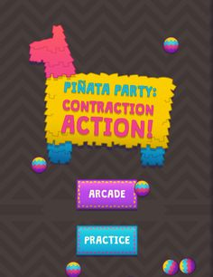 "This is an image from this resource on the Internet4Classrooms' ""Contractions Second (2nd) Grade Skill Builders Resources at I4C"" resource page:    Contraction Action.    Are you ready to burst into action while practicing contractions?! Join the fiesta in ""Arcade"" mode by tapping/clicking on the correct contraction spelling and using the slingshot to make the piñata burst open or play ""Practice"" mode to test your knowledge on contractions and hone your slingshot skills."