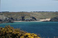 Belle-Île en mer : les plages de Herlin et Baluden - Belle-Ile en mer - Bretagne - France