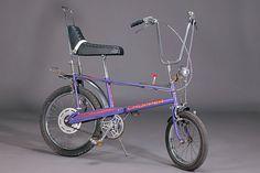 Raleigh Chopper MKII, mauve, original, purple