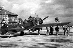 Carrier-based scouts Nakajima С6N Mirt of 762 kokutai.