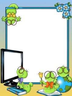 Boarder Designs, Page Borders Design, Borders For Paper, Borders And Frames, School Border, Halloween Wood Crafts, School Frame, Kids Background, School Images