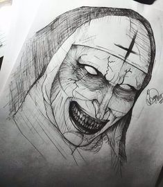 Zombie Drawings, Scary Drawings, Badass Drawings, Dark Art Drawings, Pencil Art Drawings, Art Drawings Sketches, Arte Horror, Horror Art, Horror Drawing