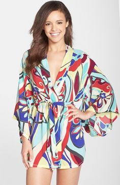 Josie Mosaic Print Happi Coat available at #Nordstrom