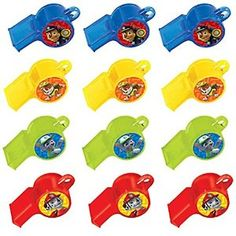 Amazon.com: Paw Patrol Whistles / Favors (12ct): Toys & Games