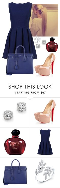 """Senza titolo #399"" by blaki on Polyvore featuring moda, Bloomingdale's, Christian Louboutin, Christian Dior, Yves Saint Laurent, women's clothing, women's fashion, women, female e woman"
