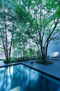 Hiroshi Nakamura & NAP have designed the Optical Glass House in Hiroshima, Japan.