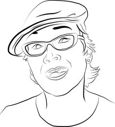 Turn Your photo for T-shirt into sketch for 5$