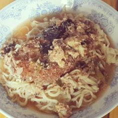 Sunday's Cooking : Chicken Katsudon Ramen - by @bachiennn. Yum!